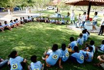 MT: Capoeira e Projeto social da PM envolve 250 crianças