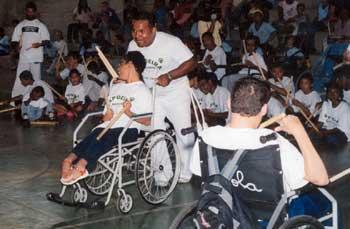 Portal Capoeira Fortaleza: Capoeira promove a inclusão de pessoas com necessidades especiais Capoeira sem Fronteiras