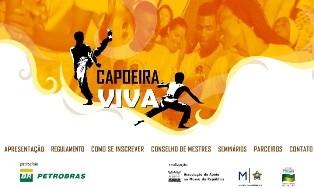 Ministro Gilberto Gil lança projeto – CAPOEIRA VIVA