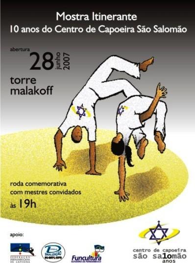 Portal Capoeira Pernambuco: 10 anos do Centro de Capoeira São Salomão Eventos - Agenda