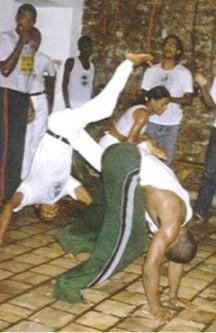 Portal Capoeira Várzea Grande: Portadores de necessidades especiais jogam capoeira na Olimpíada Inclusiva Capoeira sem Fronteiras