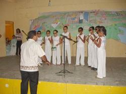 Portal Capoeira Natal - RN: Dia do estudante & Capoeira Cidadania