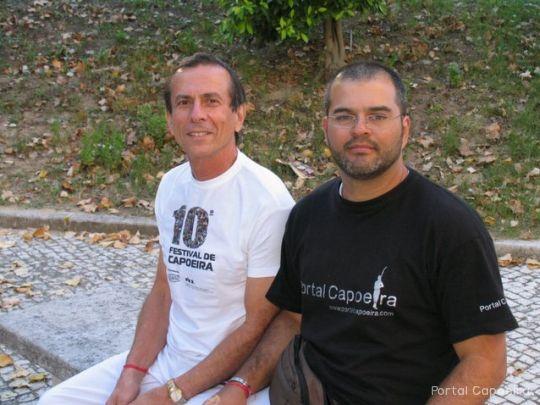 Portal Capoeira Entrevista Mestre Gato Conversando com o Mestre Mestres