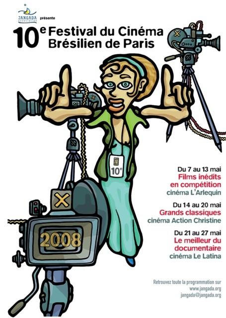 Portal Capoeira Mestre Bimba no 10° Festival de Cinema Brasileiro de Paris! Eventos - Agenda