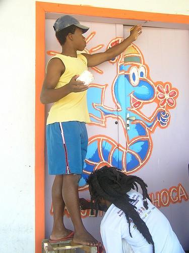 Portal Capoeira Mestre Lua Santana, Nigôlo & Projeto Minhoca Cidadania