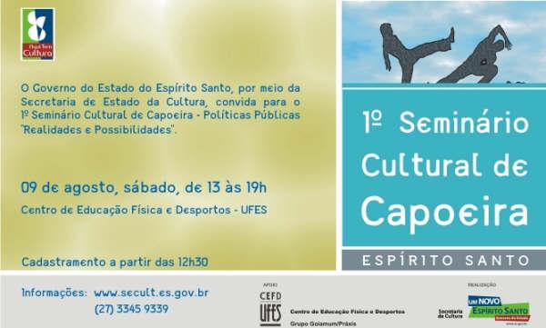Portal Capoeira ES: Curso de Formação e Capacitação Pedagógica ao Ensino da Capoeira Eventos - Agenda