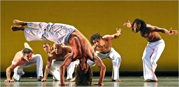 DANCEBRAZIL & Mestre Jelon no New York Times