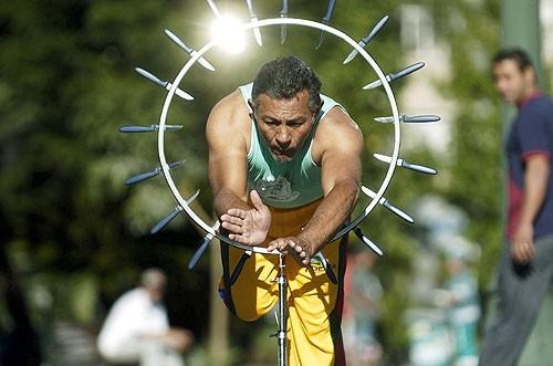Portal Capoeira O pulador de facas da Praça Dante Curiosidades
