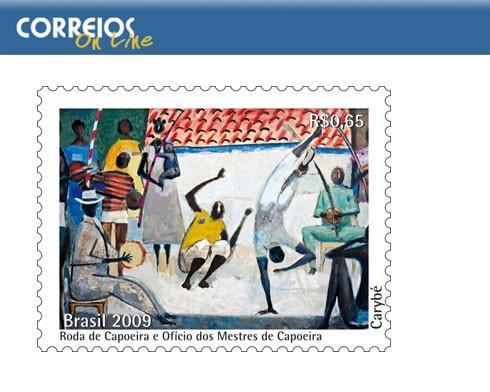 Portal Capoeira Capoeira recebe homenagem em selo postal Notícias - Atualidades