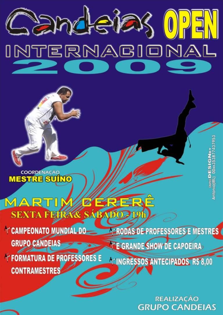 Portal Capoeira Candeias Open Internacional de Capoeira 2009 Eventos - Agenda