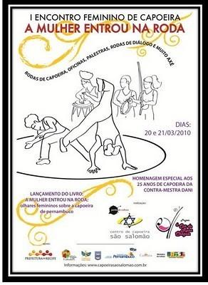 Portal Capoeira Encontro Feminino de Capoeira de Pernambuco Eventos - Agenda