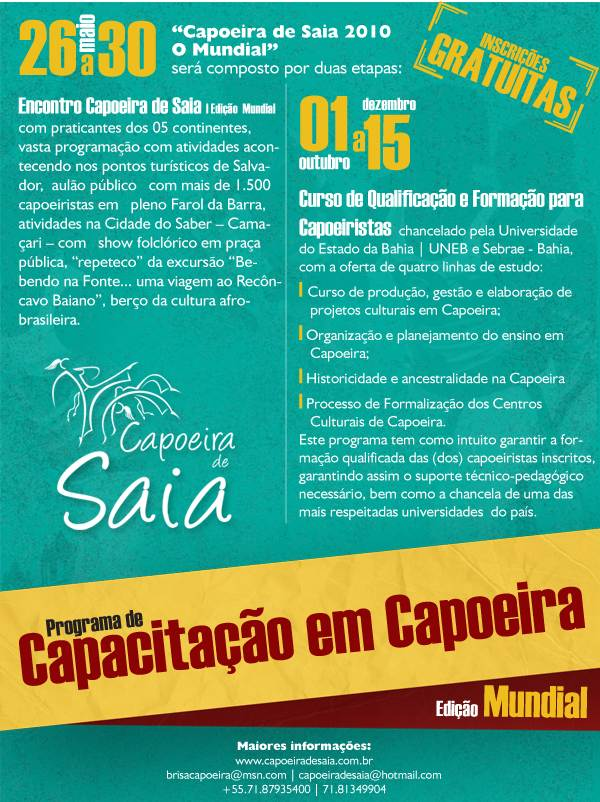 Programa Capoeira de Saia 2010