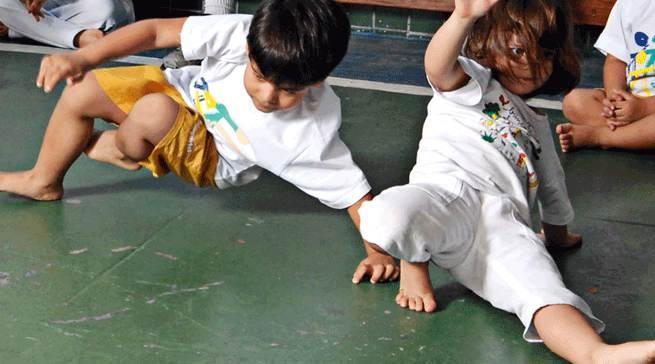 Site de Capoeira para crianças – www.brincadeiradeangola.com.br