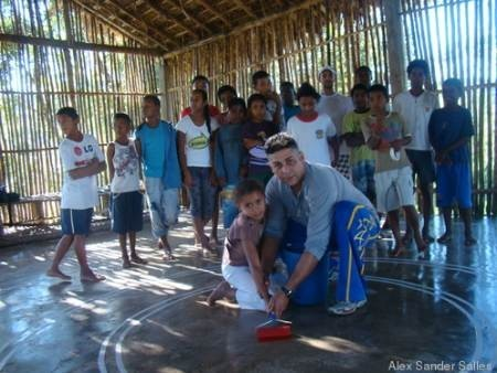 Portal Capoeira Mutirão de jovens quilombolas encerra primeiro ciclo de oficinas do Ponto de Cultura Cultura e Cidadania