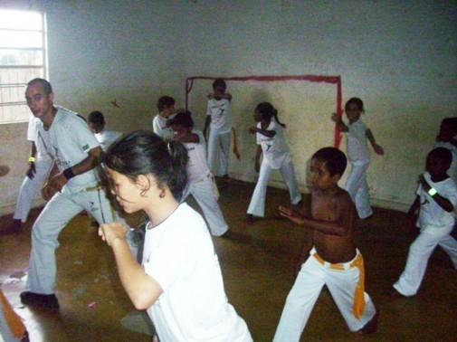 Portal Capoeira Muriaé: Projeto Mundo Capoeira Cidadania