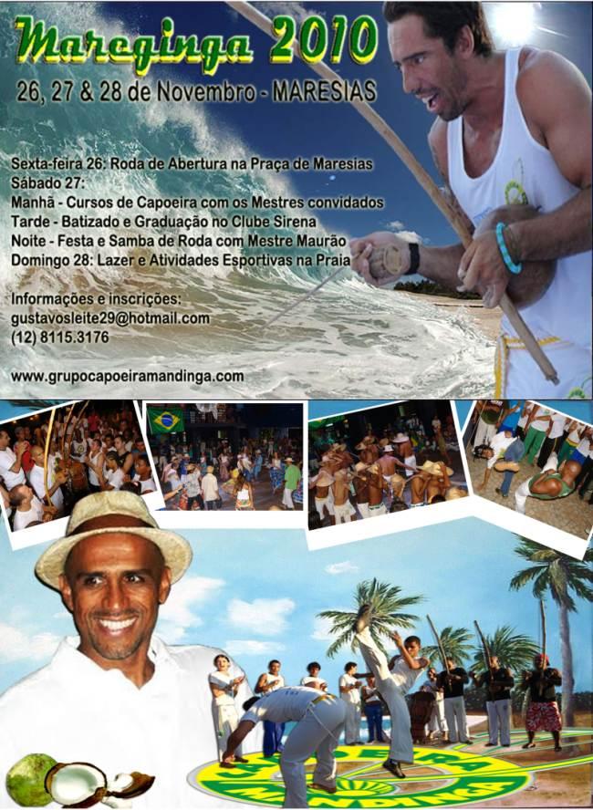 Portal Capoeira Maresias: MAREGINGA 2010 Eventos - Agenda