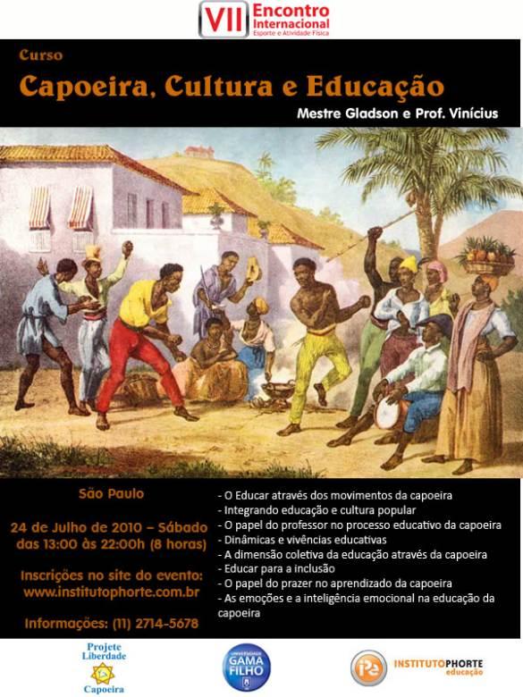 Portal Capoeira USP: Capoeira, Cultura e Educação Eventos - Agenda