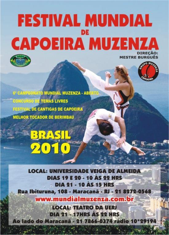 Portal Capoeira Mundial Muzenza de Capoeira: no berimbau e no batuque Eventos - Agenda