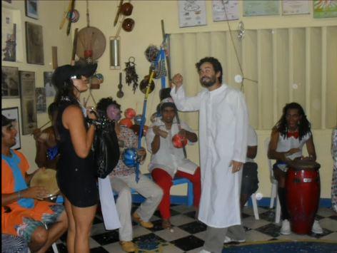 Portal Capoeira Pernambuco: Roda à Fantasia - Capoeira São Salomão Curiosidades
