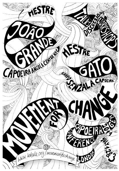 Londres: Movement For Change – The Capoeiragem Conference 2011