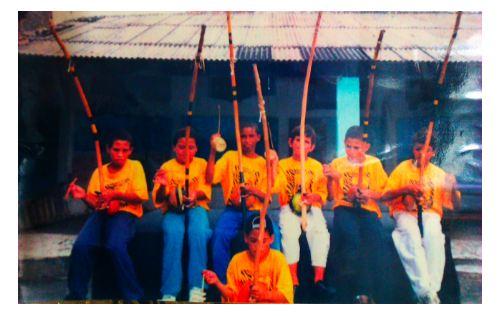 Orquestras infantil de Berimbaus, Niterói 1997