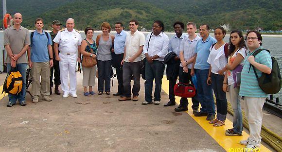 Portal Capoeira Fundação Palmares busca diálogo para garantir a territorialidade dos quilombolas da Ilha de Marambaia Cultura e Cidadania