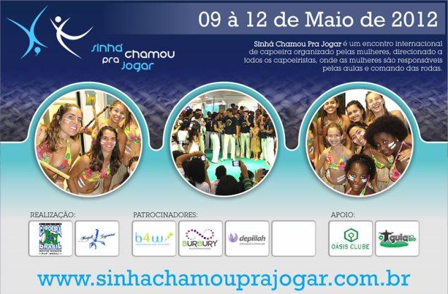 Portal Capoeira Sinhá Chamou pra Jogar Capoeira Mulheres