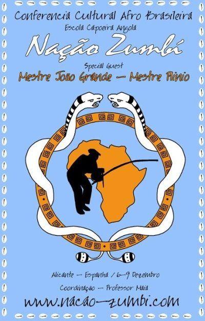 Portal Capoeira Conferencia Cultural Afro-Brasileira - Espanha 2012 Eventos - Agenda