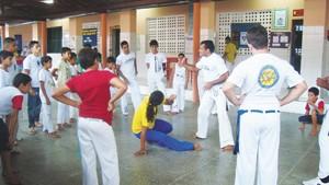 Portal Capoeira Evento reúne mestres de capoeira em Groaíras Eventos - Agenda
