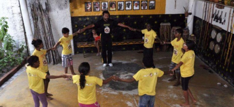 Portal Capoeira Ponto de Cultura e Legião da Boa Vontade firmam parceria Cidadania