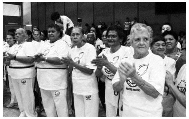 Taubaté: Capoeira na 3 ª idade - inscrições abertas Cidadania Portal Capoeira
