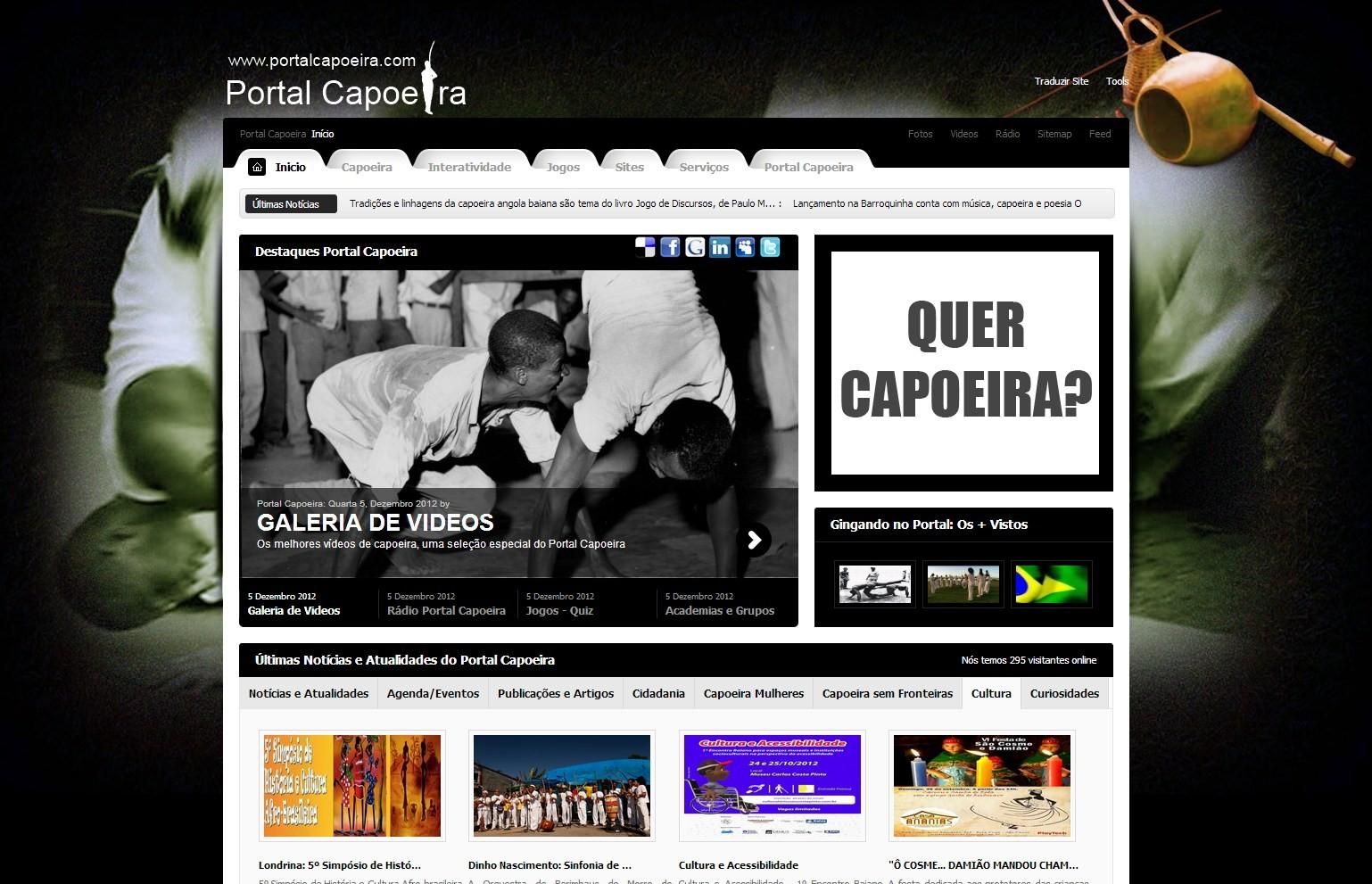 Seja um amigo do Portal Capoeira