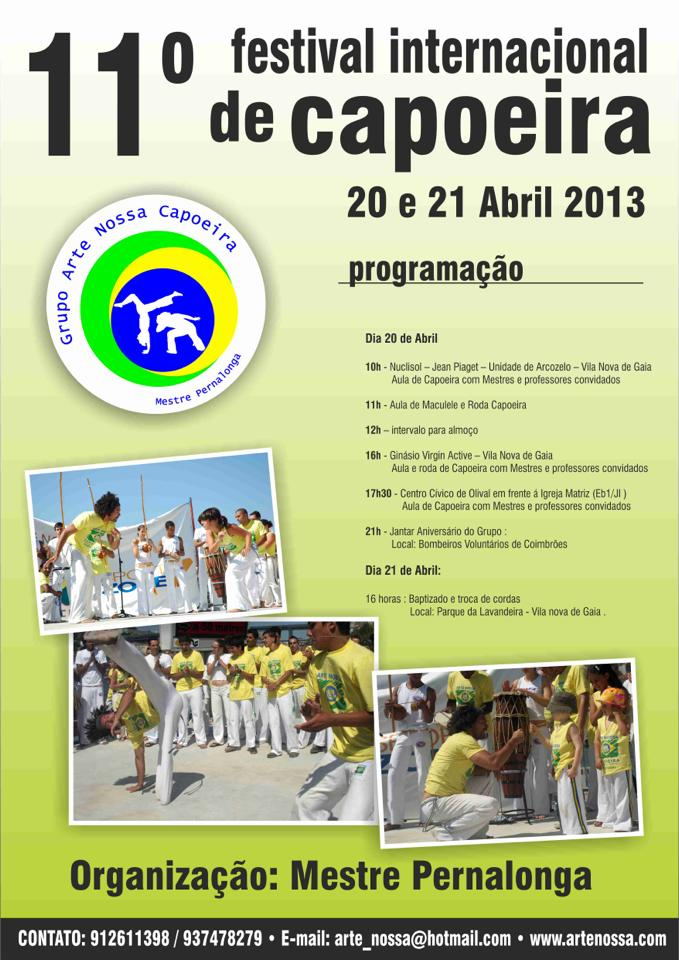11º Festival de Capoeira do Grupo Arte Nossa