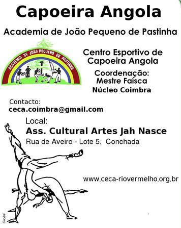 Portal Capoeira CECA - Coimbra: Oficina de Capoeira Angola Eventos - Agenda