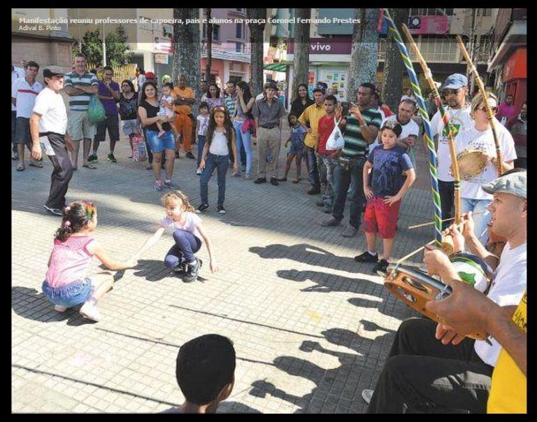 Portal Capoeira Sorocaba: Suspensão de aulas de capoeira provoca manifesto Cidadania