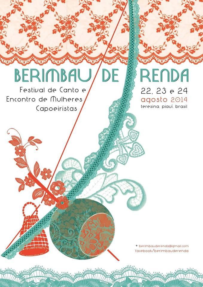 Portal Capoeira Teresina - PI: Berimbau de Renda Capoeira Mulheres