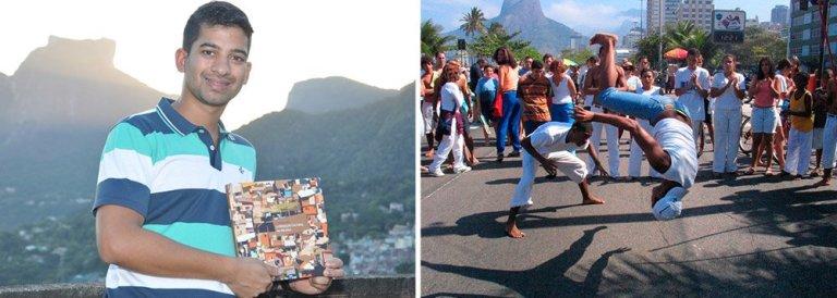 """Capoeira ajuda a """"Integrar Jovem na Sociedade"""""""