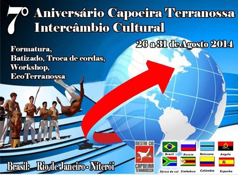 Portal Capoeira Niterói vai ser palco do primeiro Intercâmbio Cultural Terranossa Eventos - Agenda