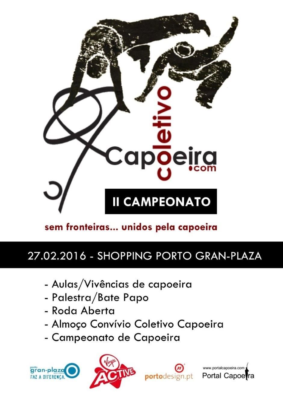 Porto: II Campeonato Coletivo Capoeira