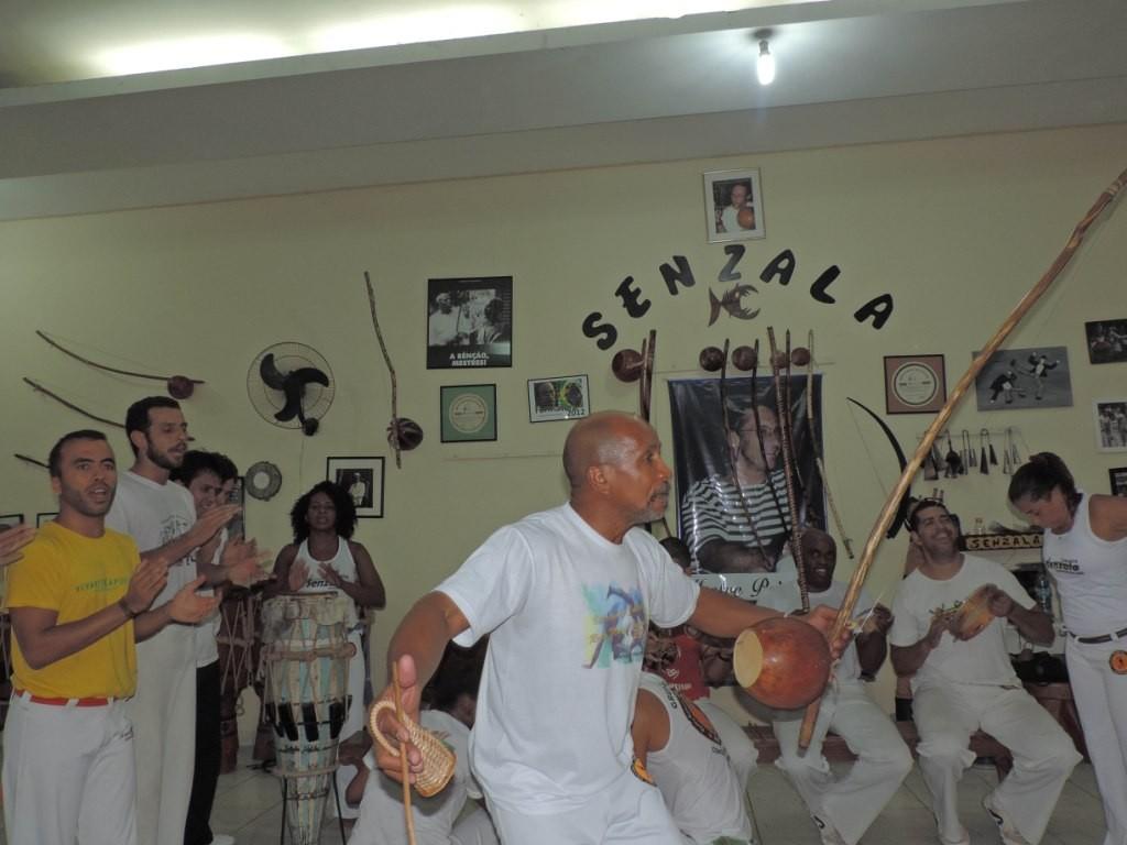 Grupo Senzala de Capoeira realiza o Intercambio Cultural Roda Mundo Capoeira