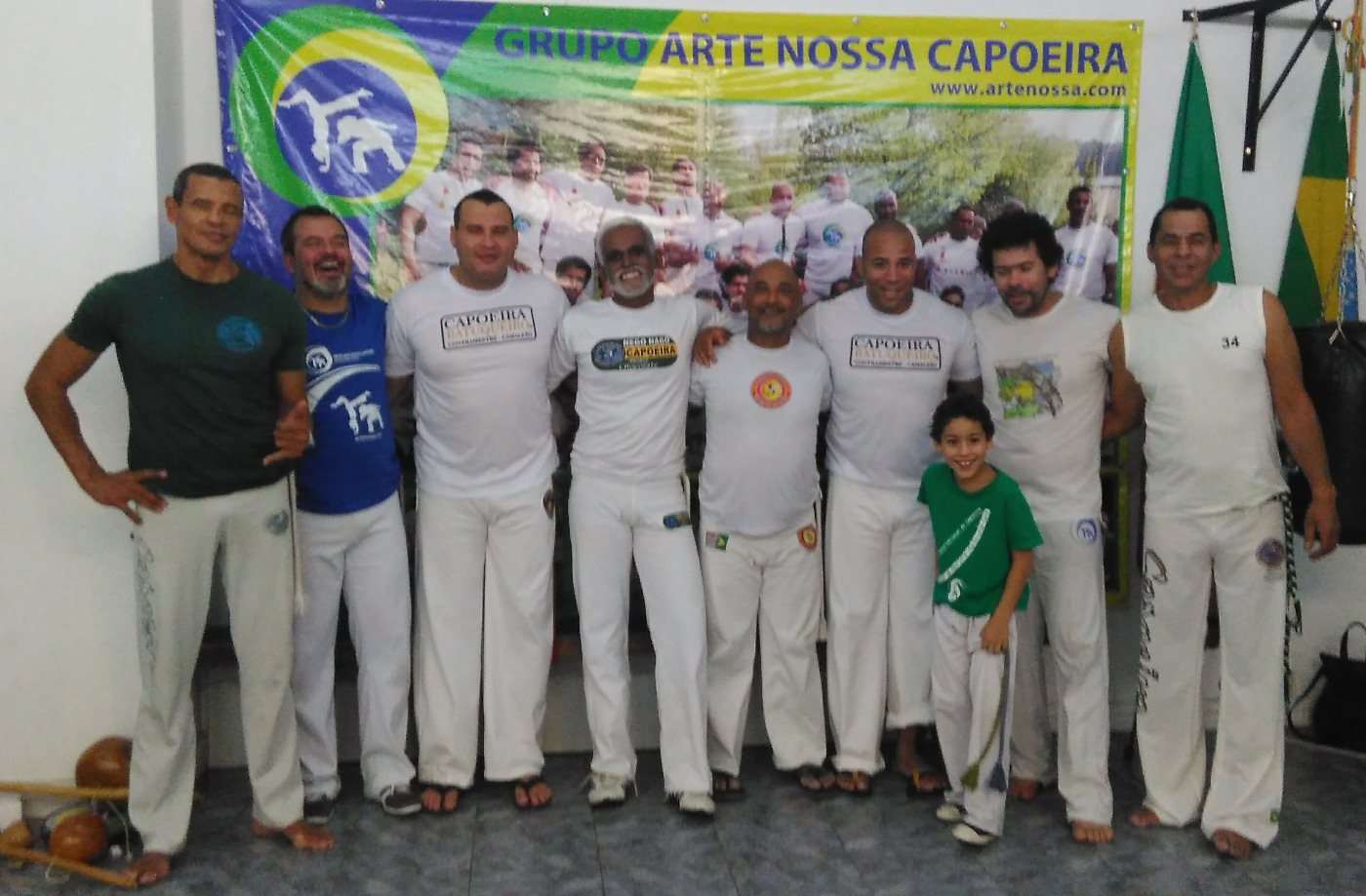 Grandes Mestres da Capoeira Paulista em Portugal
