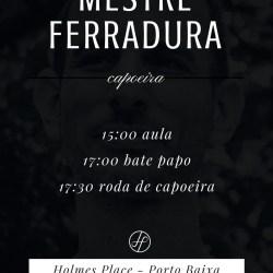 Mestre Ferradura em Portugal – Aula Aberta e Roda de Capoeira Capoeira 2