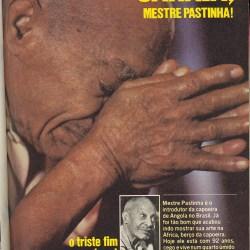 Mestre Pastinha – Revista Placar Dezembro 1979 Curiosidades Mestres
