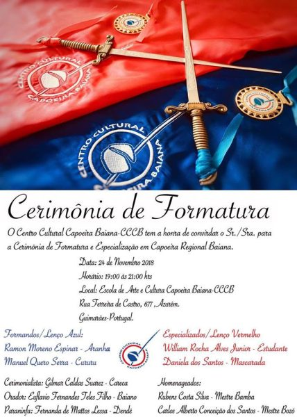 Guimarães: VIVA SEU BIMBA!!! Eventos - Agenda Portal Capoeira 1