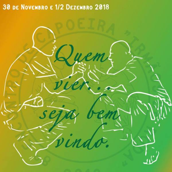 """Porto: Encontro """"Irmãos de Roda"""" Eventos - Agenda Portal Capoeira 1"""