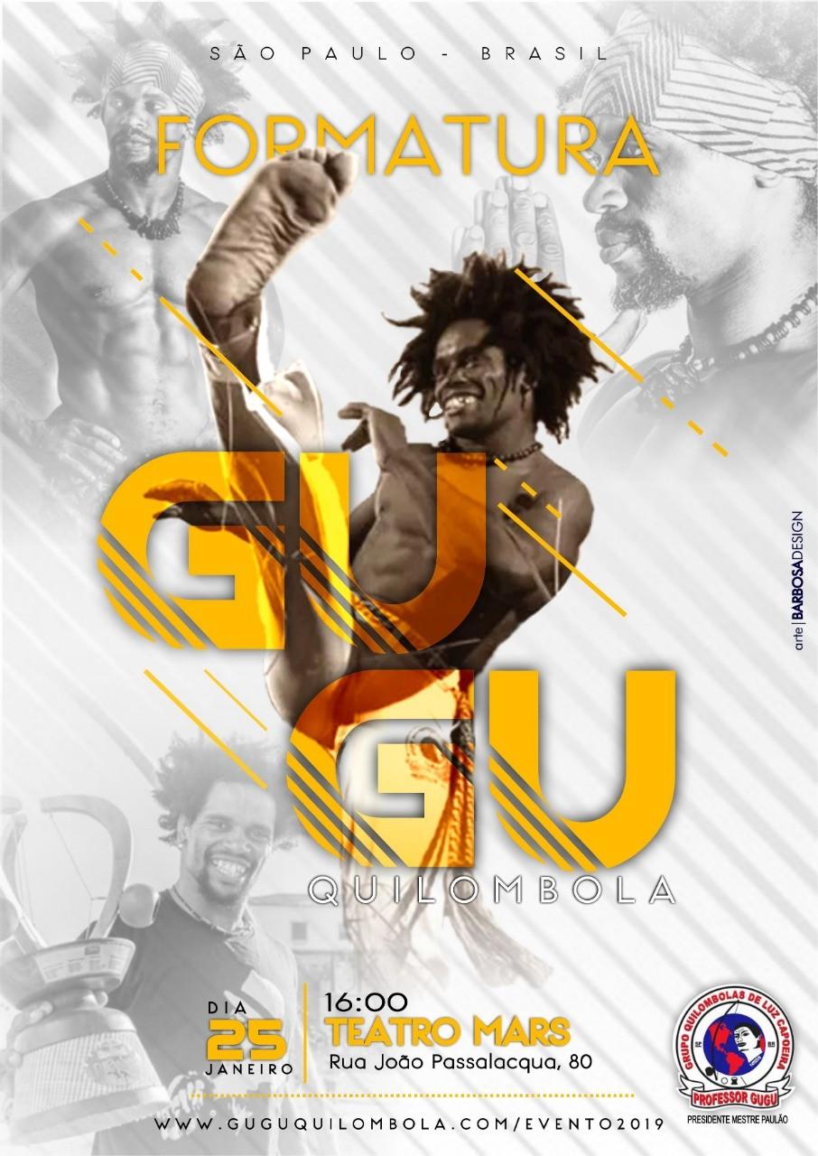 SP: Evento Integrado e Formatura Gugu Quilombola