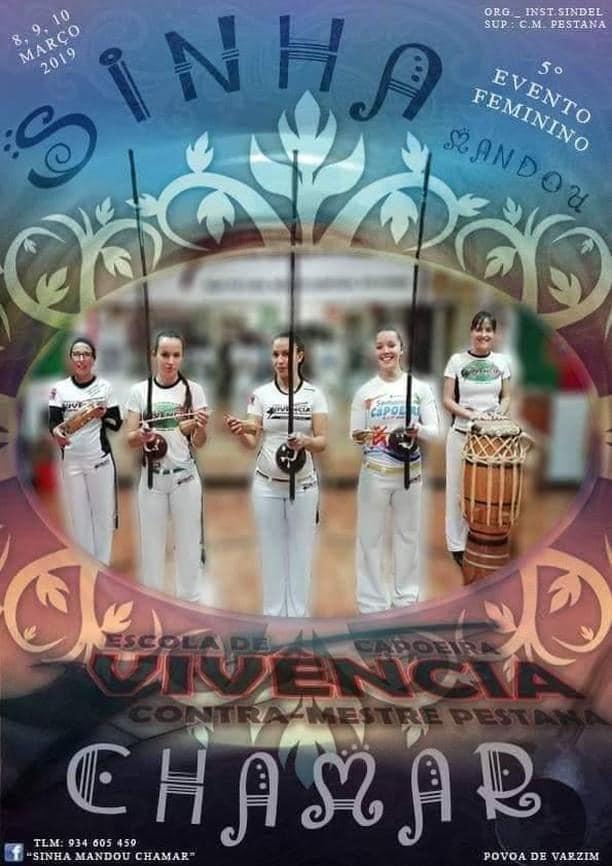 Póvoa do Varzim: Sinhá Mandou Chamar Capoeira Mulheres Eventos - Agenda Portal Capoeira