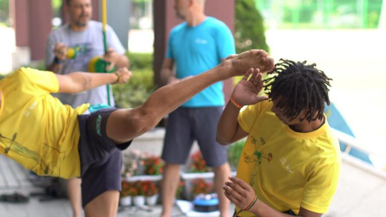 Portal Capoeira 3º Acampamento Internacional de Artes Marciais da Juventude - ICM UNESCO Capoeira Cultura e Cidadania