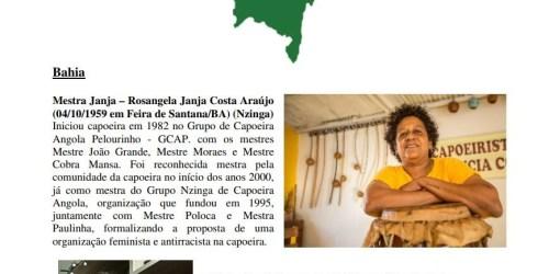 Quem são e onde estão hoje as Mestras de Capoeira Angola?