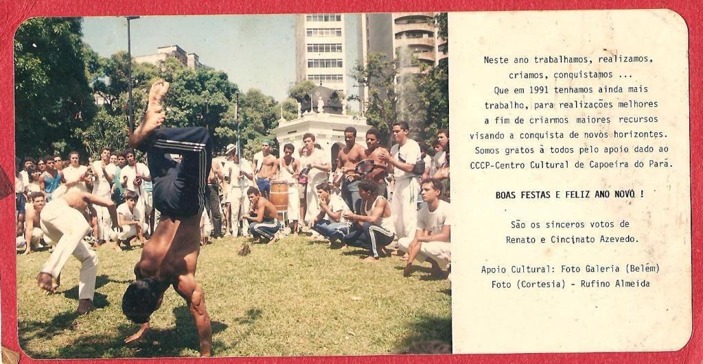Nato Azevedo: 1990 - REGISTRO HISTÓRICO Capoeira Portal Capoeira